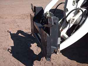 Quick attach Terex to Skid Steer Image