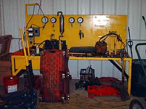 Hydraulic Work Table Image