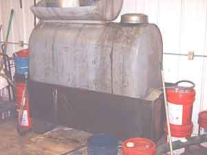 Waste Oil Tank Image