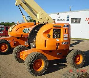Articulated Booms